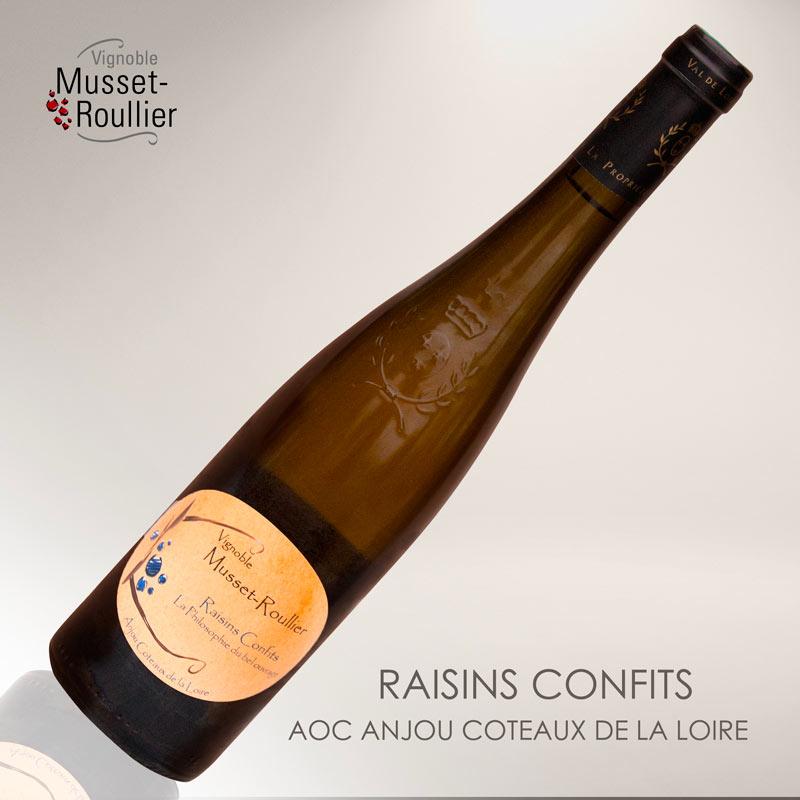 Raisins Confits – AOP Anjou Coteaux de la Loire